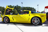 Corvette jaune — Photo