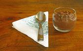 Pouding au chocolat — Photo