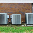 Industrial air conditioners — Stock Photo #17446677
