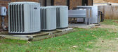 Industrial air conditioners — Fotografia Stock