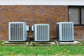 Industrial air conditioners — Stockfoto