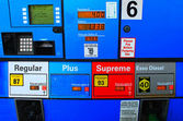 Current low gas prices — Stock Photo