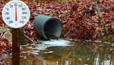 Drainage pipe — Stock Photo