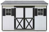 Storage shed — Stock Photo
