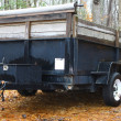 Stock Photo: Utility trailer