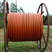 Plastic conduit — Stock Photo