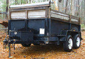Utility trailer — Stock Photo