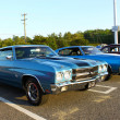 Two Vintage 1970 Chevrolet Chevelle SS 454&#039;s - Zdjcie stockowe