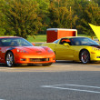 Two Chevy Corvette Z06&#039;s - Zdjcie stockowe