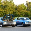 Two Vintage 1970 Chevrolet Chevelle SS 454&#039;s i - Stockfoto