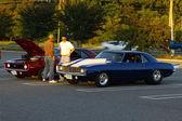Two Chevrolet Camaros — Stock Photo