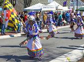 Tinkus danse bolivienne — Photo