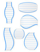 Jotter Bookmarks — Stockvector