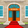 Welcome to school — Stock Vector