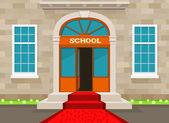 Welcome to school — Stock Vector