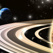 Exoplanets. World outside of our solar system — Stock Photo