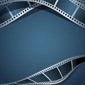 Blank photo, video template — Stock Vector