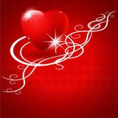 Valentine's Day vector background. — 图库矢量图片
