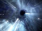 Heavy black hole. — Stock Photo