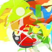 Colorful abstract. Vector illustration.  — 图库矢量图片