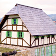 Traditional Bosnian old architecture vintage house or cabin — Stock Photo #38626607