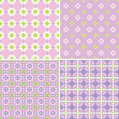 Pastel patterns — Stock Vector