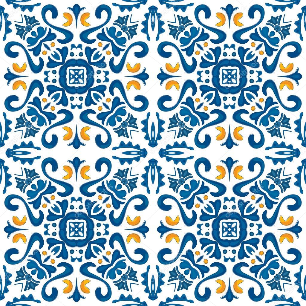 Azulejos portugueses vetor de stock nahhan 31776759 - Azulejos portugueses comprar ...