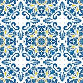 Portuguese tiles — Cтоковый вектор