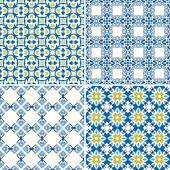 Portugese tegels — Stockvector
