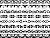Dekorativní hranice — Stock vektor