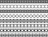 Decorative borders — Stock Vector