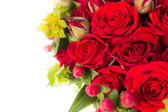 Big bunch of red roses — Stock fotografie