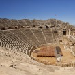 Amphitheatre in Side Turkey - Stock Photo