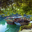 Stock Photo: Manavgat river boats