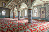 Inside Manavgat mosque — Stock Photo