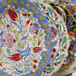 Traditional turkish iznik plates — Stock Photo