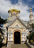 Catedral ortodoxa de yalta — Foto de Stock