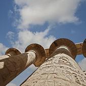 Temple of karnak in Luxor Egypt — Stock Photo
