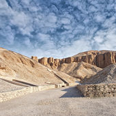 Valley of the kings, Egypt. — Stock Photo