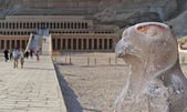 Templo de hatsepsut no vale das rainhas — Foto Stock