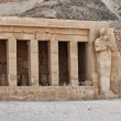 Hatshepsut temple detail — Stock Photo