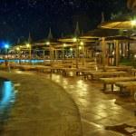 Luxury hotel at night — Stock Photo