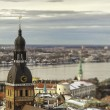 View of Riga town, Latvia - Stock Photo