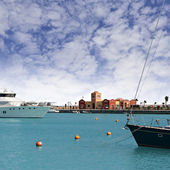 New Hurghada marina — Stock Photo
