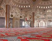 内部 manavgat 清真寺、 土耳其 — 图库照片
