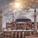 Собор Святой Софии Стамбул — Стоковое фото #22211193