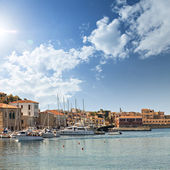 Chania town on Crete — Stock Photo
