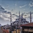 Blue mosque in Istanbul — Stock Photo #22353449