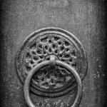 Old doorknocker — Stock Photo