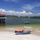 Cidade de pesca hua hin — Fotografia Stock